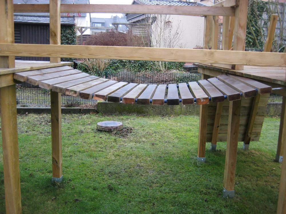 Klettergerüst Holz Selber Bauen : Treppe aus holz selber bauen diy holztreppe anleitung