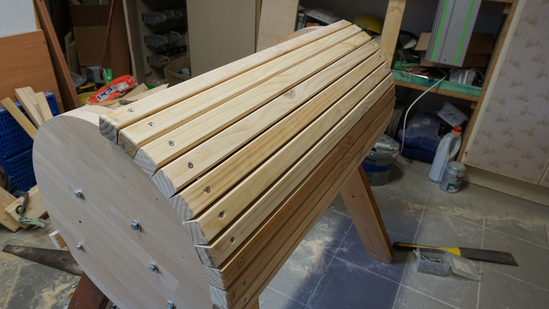 Kletterdreieck Selber Bauen : Holzpferd selber bauen teil 1 korpus und beine