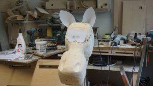 Pferdekopf mit prov Ohren