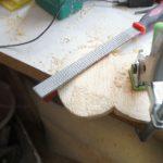 Pferdecomicaugen mit raspel bearbeitet