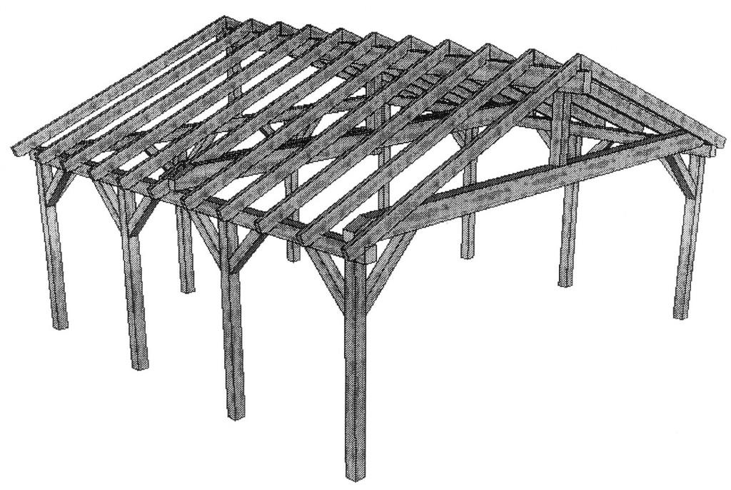 Sehr Carport Bauanleitung - Aufbau - kostenloser Bauplan BN39