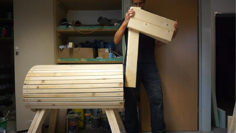holzpferd selber bauen teil 2 pferdekopf und hals. Black Bedroom Furniture Sets. Home Design Ideas