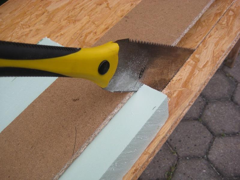 styrodur oder styropor schneiden ganz einfach und preiswert. Black Bedroom Furniture Sets. Home Design Ideas
