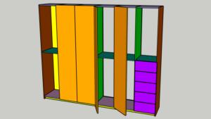 Endlosschrank CAD