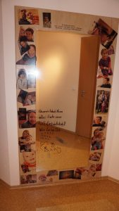 Wandspiegel fertig