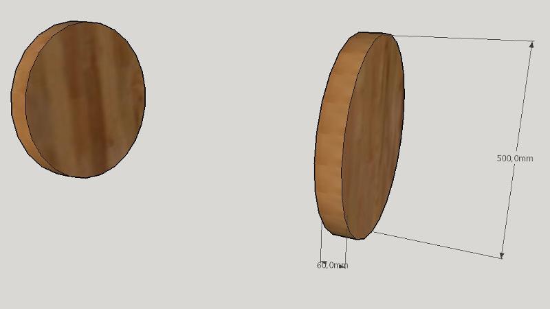 holzpferd selber bauen teil 1 korpus und beine. Black Bedroom Furniture Sets. Home Design Ideas